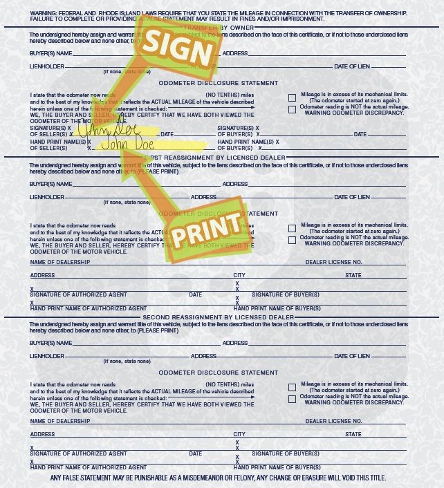 Check Car Registration Status Rhode Island